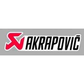 Pegatina logo Akrapovic