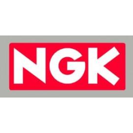 Pegatina logo NGK 2