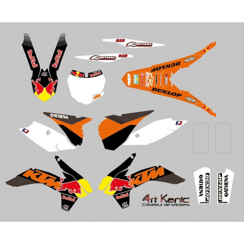 Chaise De Cuisine Germain Lariviere : Kit Sticker Deco Red Bull Pour Moto  Car Interior Design