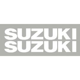 2 pegatinas Suzuki dim 210x30 mm