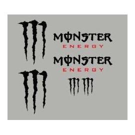 Kit pegatinas decorativas Monster Energy