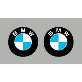 2 pegatinas logo BMW