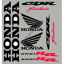 stickers autocollants pour moto honda cbr hornet varadero art kanic. Black Bedroom Furniture Sets. Home Design Ideas