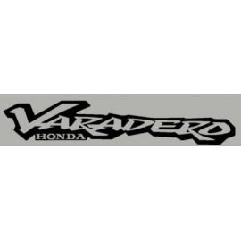 2 stickers HONDA Varadero