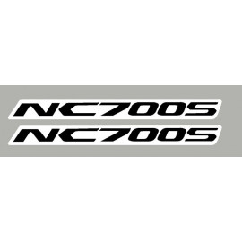 2 aufkleber Honda NC700S