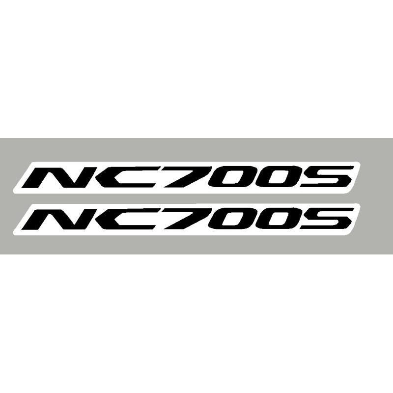 2 Stickers autocollants Honda NC700S