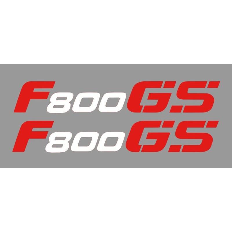 2 Stickers autocollant F800GS