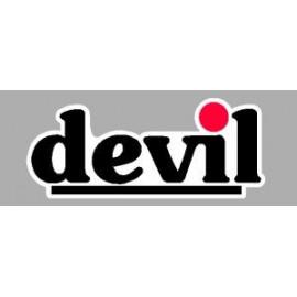 Logo autocollant sponsor Devil