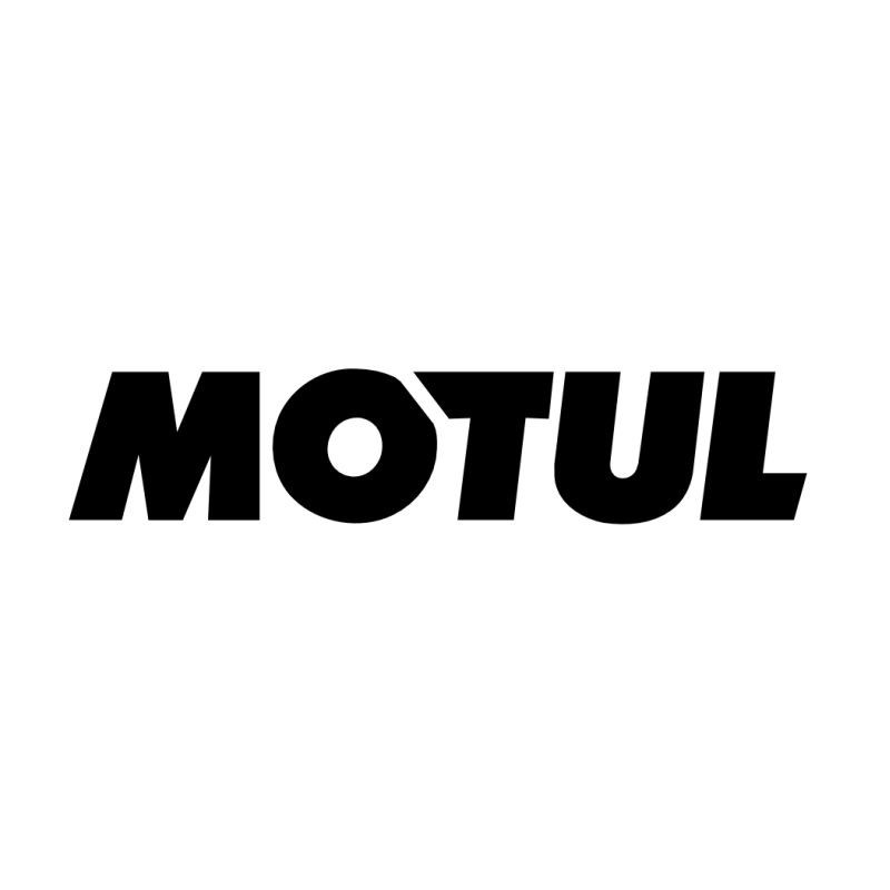 Sticker logo sponsor Motul autocollant