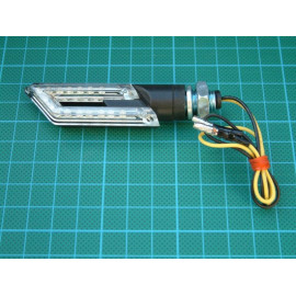 2 clignotants LED parallélogramme