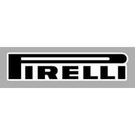 Logo autocollant sponsor Pirelli horizontal