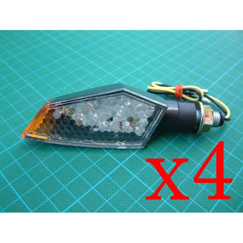 kit 4 clignotants LED polygone