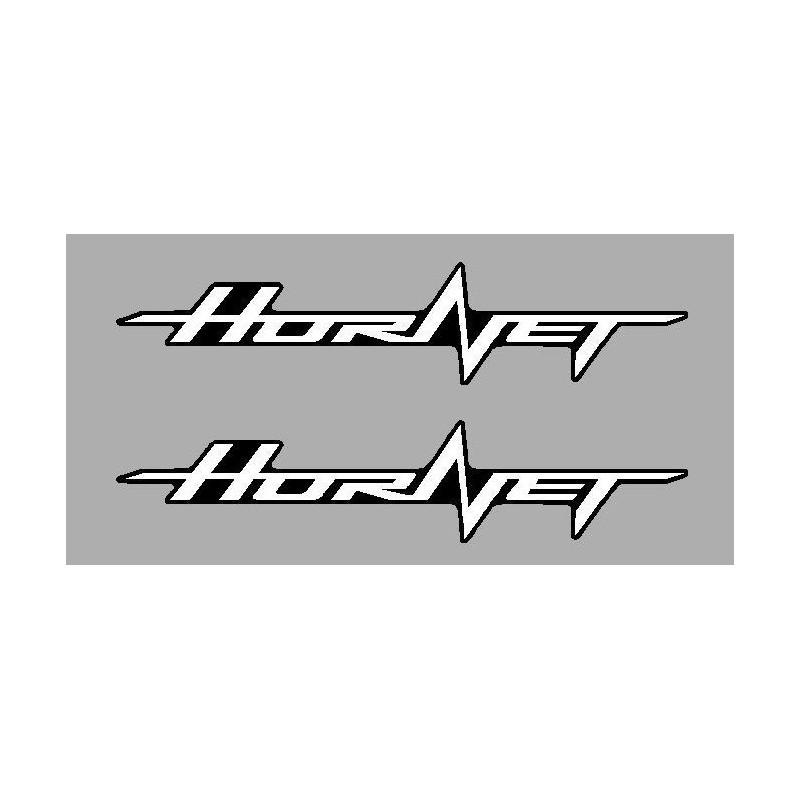 2 stickers autocollants Hornet