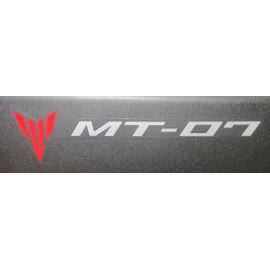 2 stickers autocollants MT-07