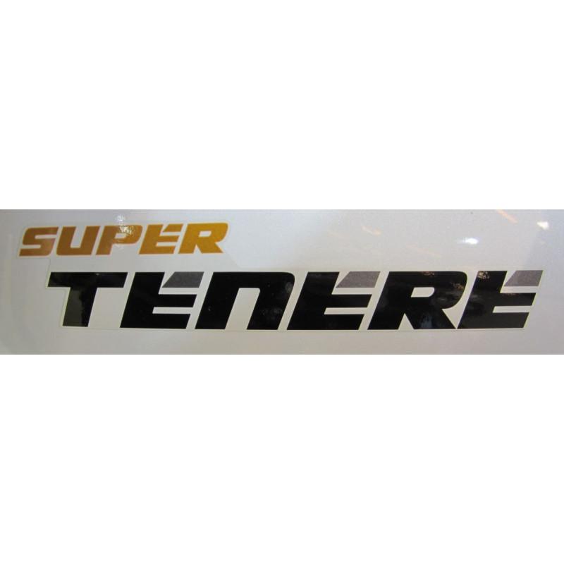 2 stickers autocollants Super TENERE