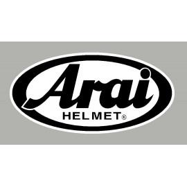Pegatina logo Arai