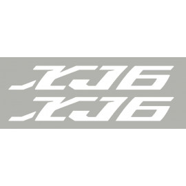 2 aufkleber für XJ6