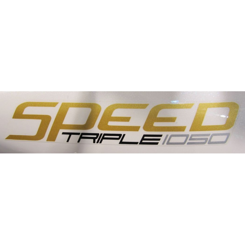 2 Pegatinas Speed Triple 1050