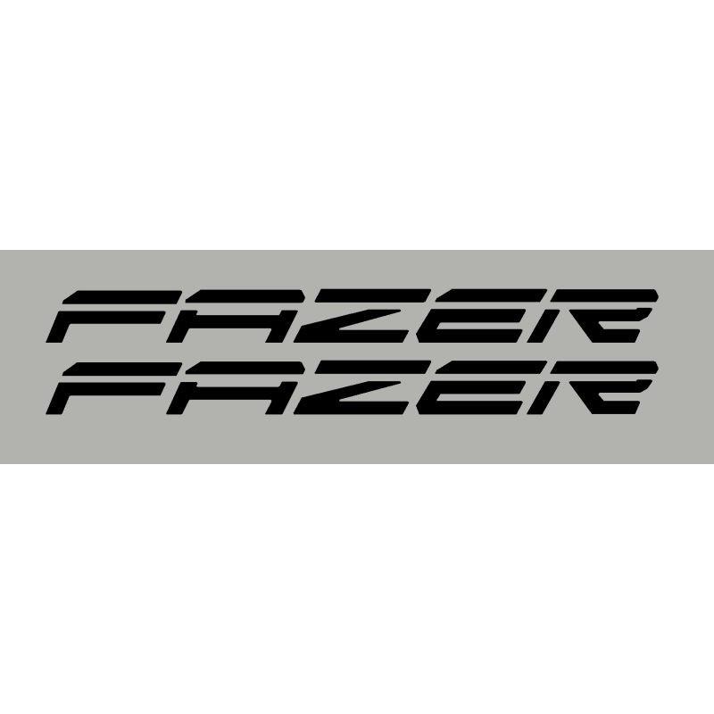 2 Aufkleber Für Fazer Yamaha