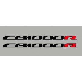 2 aufkleber für Honda CB1000R