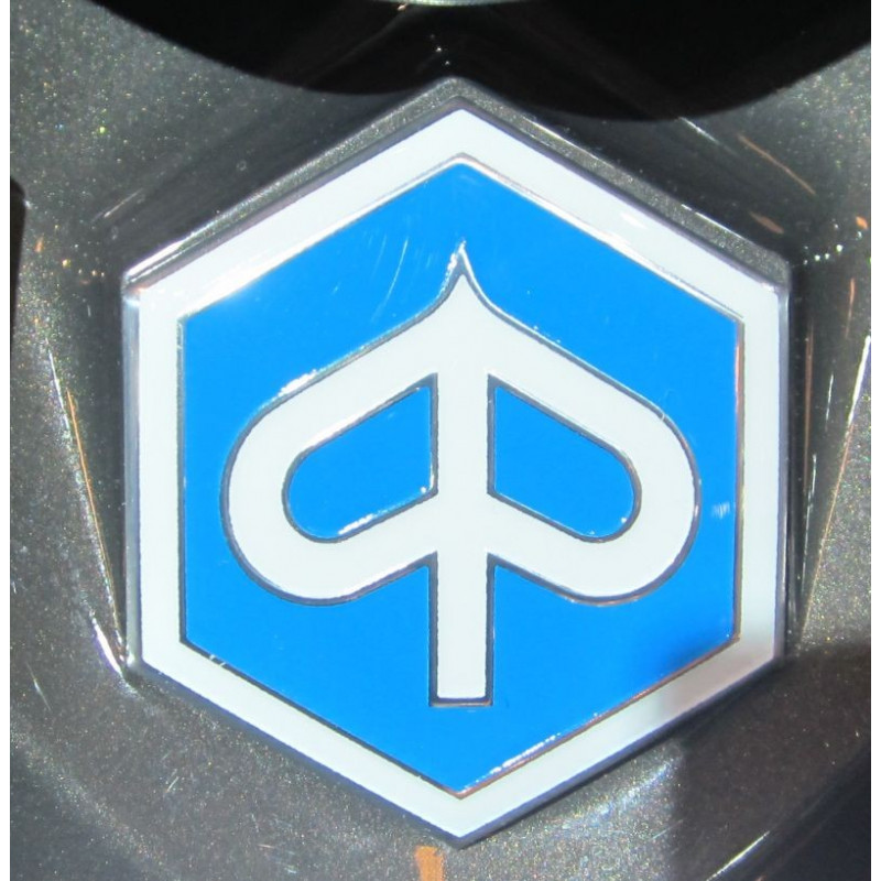 2 stickers logo Piaggio autocollants