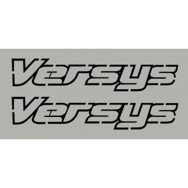 Kit stickers autocollants Versys 1000 kawasaki 2013-14