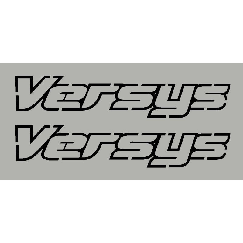 Kit stickers autocollants Versys 1000 kawasaki 2013-14