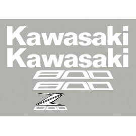 Stickers kit for Z800 Kawasaki