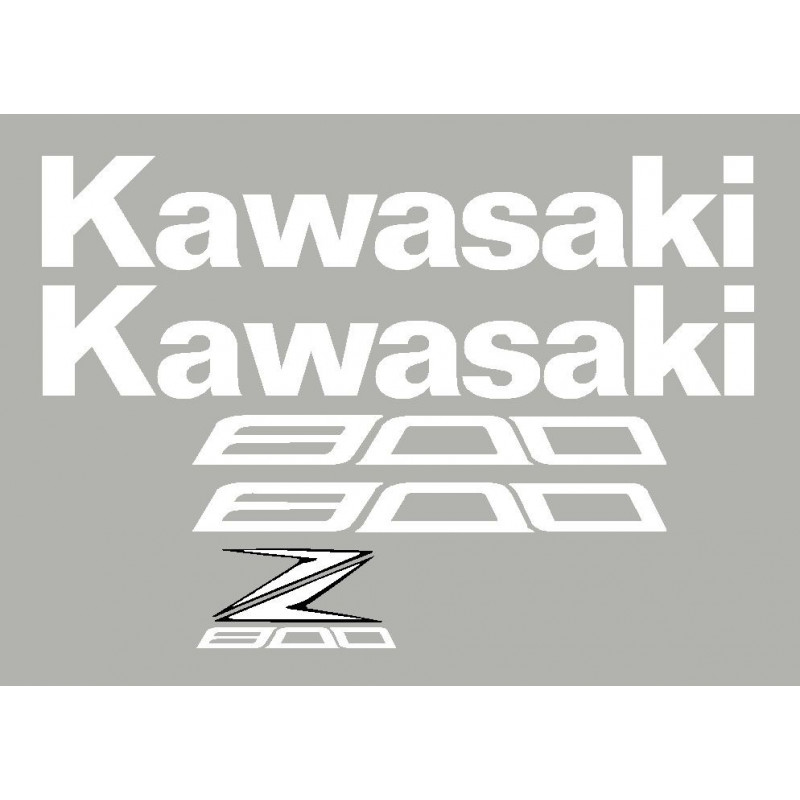 Kit stickers autocollants Z800 Kawasaki