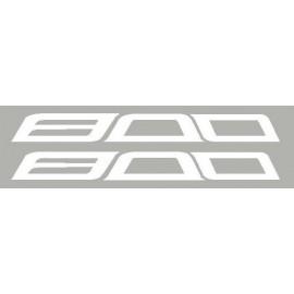 2 aufkleber 800 für kawasaki Z800