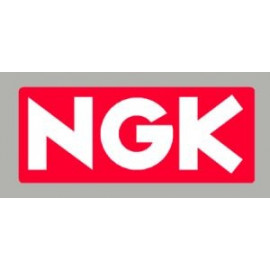 Logo autocollant sponsor NGK
