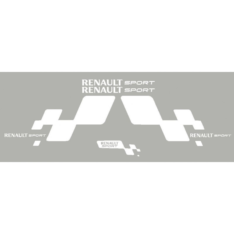 Kit sticker Renault sport