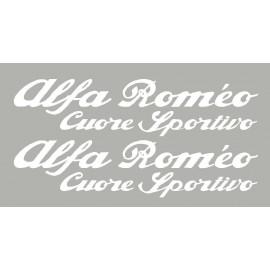 Sticker de portière Alfa Roméo