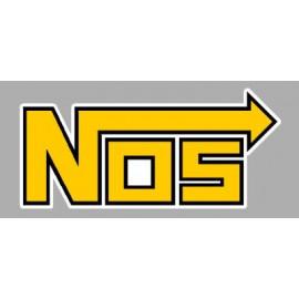 Pegatina logo Nos