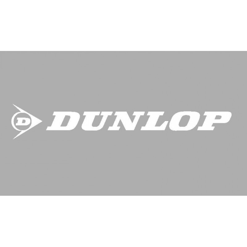 Sticker logo DUNLOP