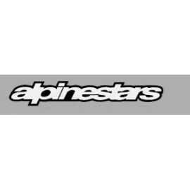 Logo autocollant sponsor Alpinestars