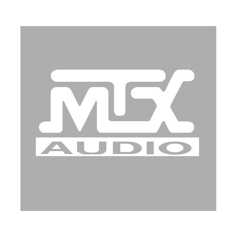 Sticker logo MTX