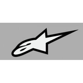 Logo autocollant sponsor Alpinestars 2