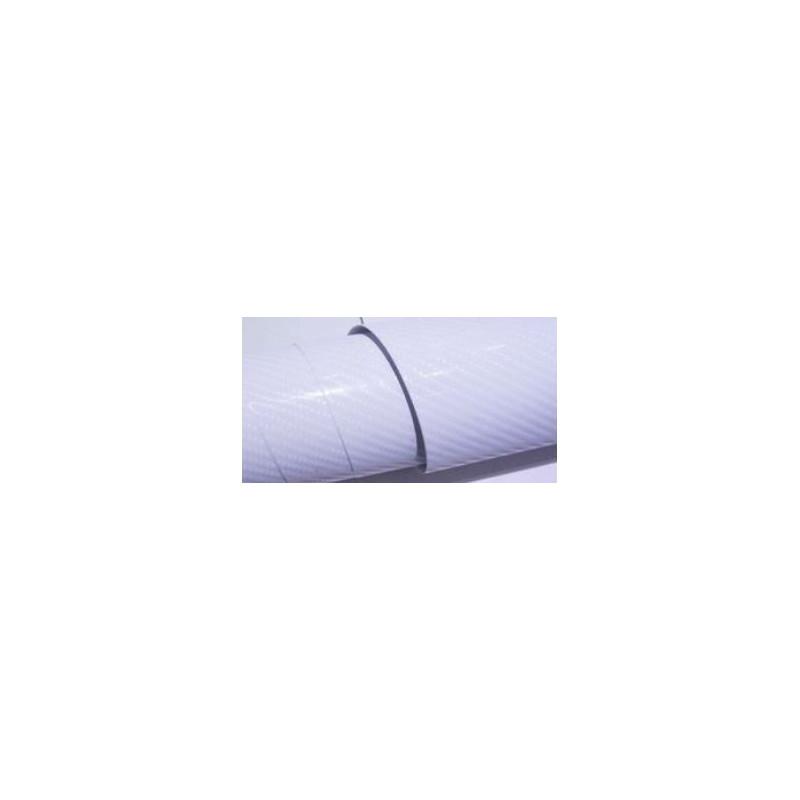 Vinyle pour covering carbone blanc verni