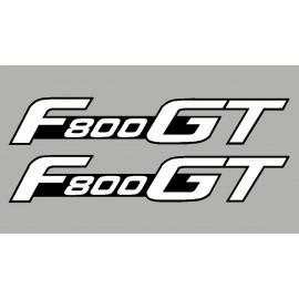 2 stickers autocollants F800GT BMW