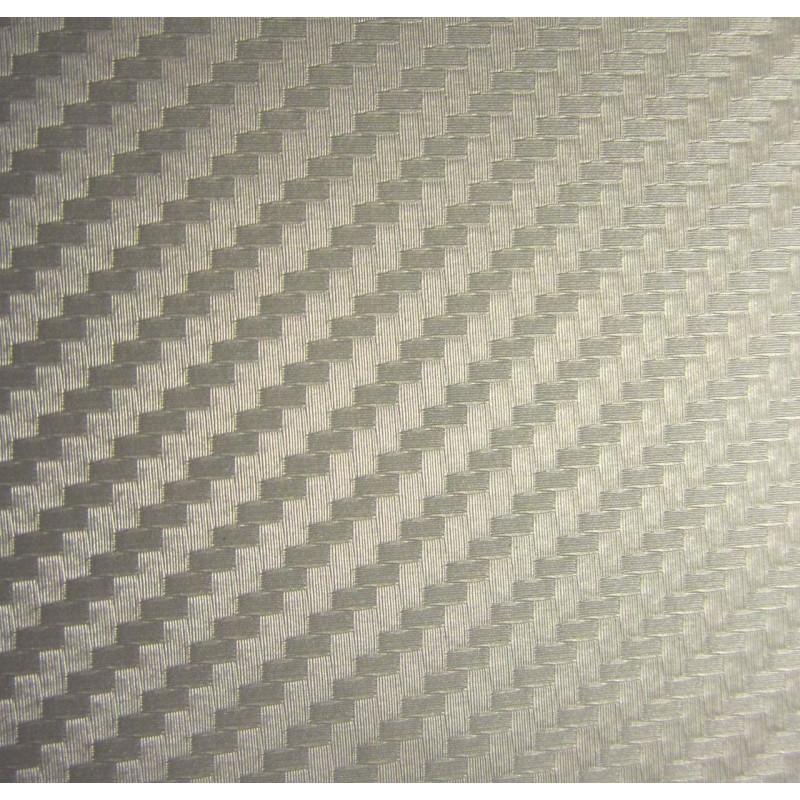 Vinyle pour covering carbone argent