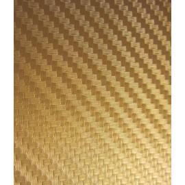Vinyle pour covering carbone or brut 3D