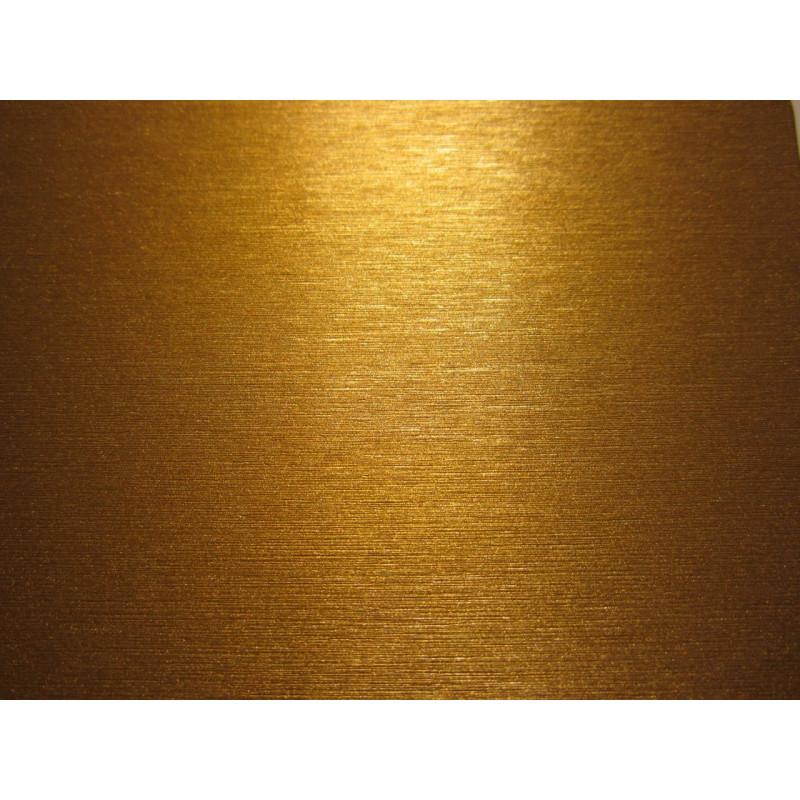 Vinyle pour covering brossé or