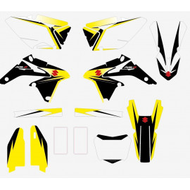 Kit sticker cross Suzuki RMZ 450 2013-15