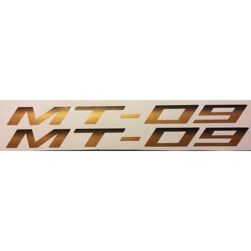 2 Aufkleber Für Mt 09 Yamaha