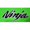2 stickers autocollant Ninja avec contour