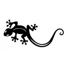 Autocollant salamandre ile de la réunion