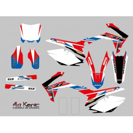 Kit sticker cross Honda CR ou CRF de 2001 à 2015