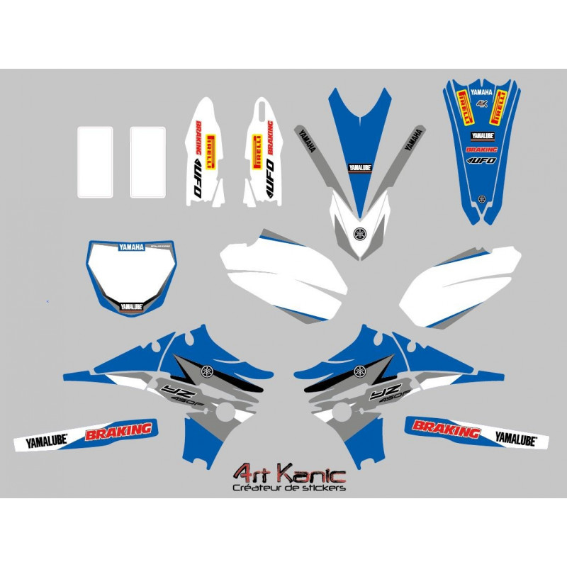 Kit sticker cross Honda CRF 450 2013-15