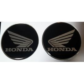 2 Logos Honda diamètre 60 en relief